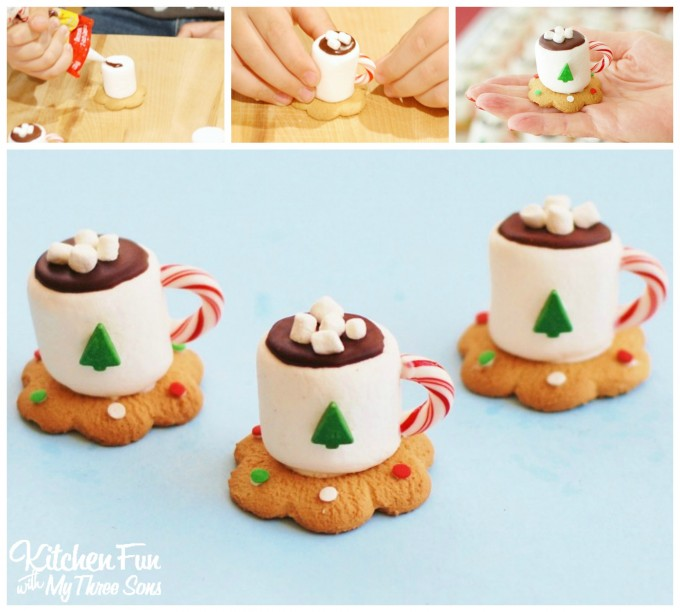 Chocolate Marshmallow Mug Cake Eggless