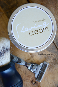 DIY Shaving Cream Recipe   Shaving Cream Printable Labels