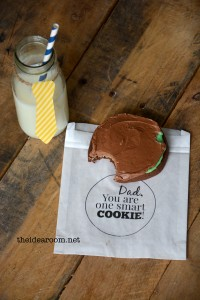 Father's Day–One Smart Cookie tutorial   Father's Day–One Smart Cookie Printable