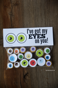 Halloween Eye Ball Printables