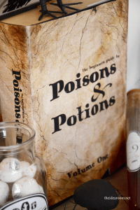 Poisons & Potions Book Cover