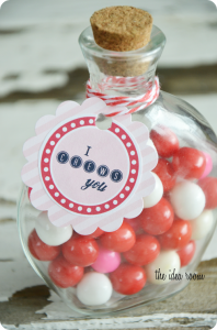 "Original Post for ""I Chews You"" Valentine Gift Idea and Labels   Labels"