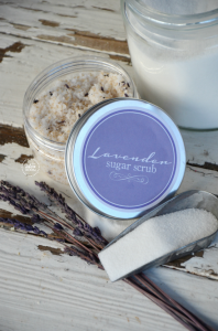 Lavender Sugar Scrub Recipe   Printable Lavender Sugar Scrub Labels