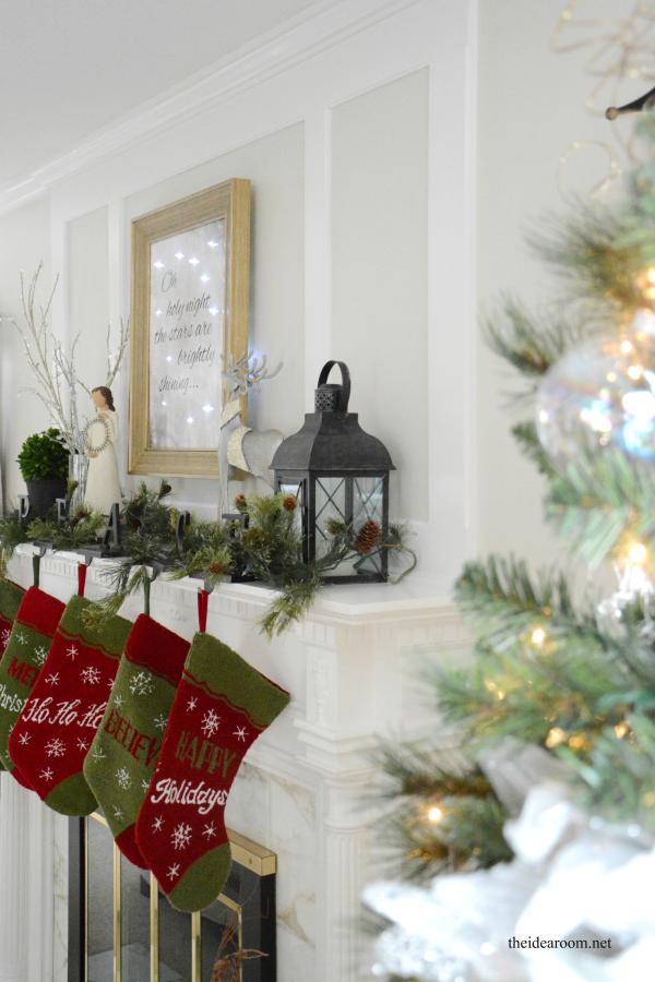 lighted christmas sign