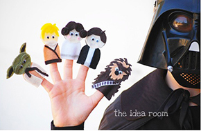 Star Wars Finger Puppet Patterns & TutorialPrice: $4.00