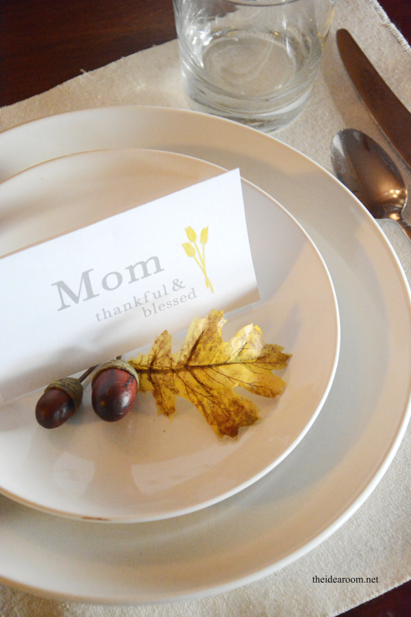 Thanksgiving Place Cards 2