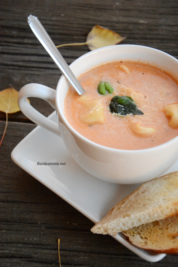 Tomato Tortellini Soup 3