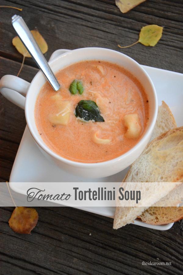 Tomato Tortellini Soup cover