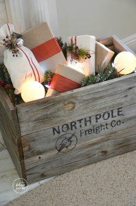 North Pole Crate Stencil Tutorial   North Pole Stencil Part A pdf    North Pole Stencil Part B pdf    North Pole Stencil (Silhouette svg file)