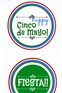Cinco de May Printables