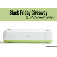 Cricut Black Friday Codes and Giveaway