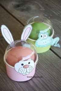 Easter Animal Character Treat Cups Tutorial   Easter Animal Printable