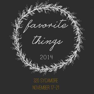 favorite things blog hop
