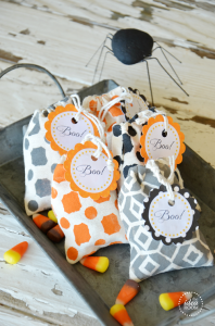Halloween Treat Bags   Labels