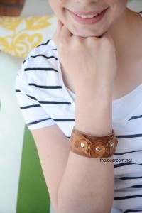 Leather Bracelet Tutorial   Leather Bracelet Pattern