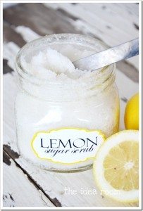 Lemon Sugar Scrub Tutorial Printable Template