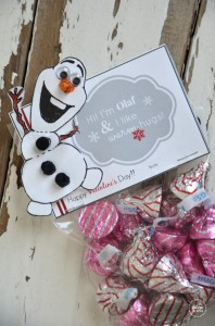 Frozen Olaf  Valentine's post   Olaf Snowman Body Printable    Olaf Valentine Bag Topper    Olaf Warm Hugs Valentine Tags