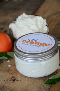 Wild Orange Body Butter Recipe   Wild Orange Body Butter Labels