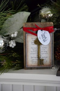 Santa's Key Tutorial   Santa's Key Poem    Santa's Key Tag