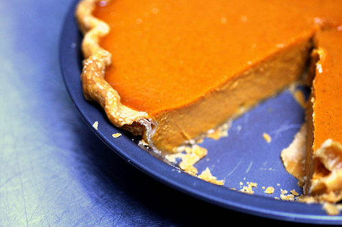 22. Silky Smooth Pumpkin Pie
