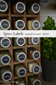 Spice Labels post  Spice Labels moved to store