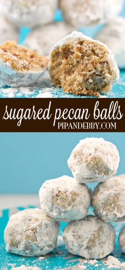 sugared pecan balls