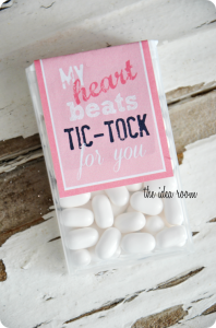 Original post for Tic-Tac Valentines gift and labels   Labels