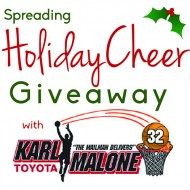 Giveaway: Spreading Holiday Cheer with Karl Malone Toyota