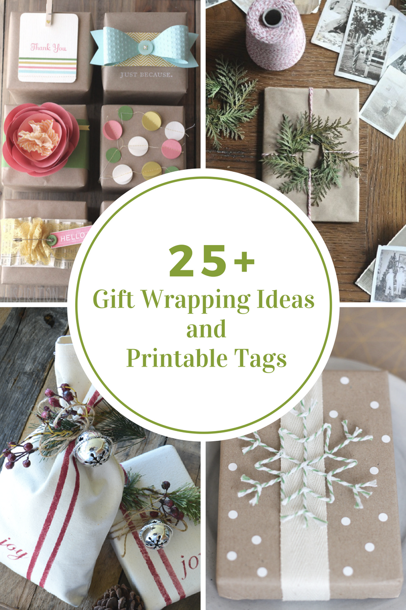 Gift Wrapping Ideas Printable Gift Tags The Idea Room