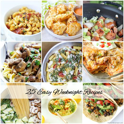 25 Weeknight Dinner Recipes Cover
