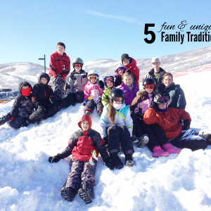 5 Family Traditions