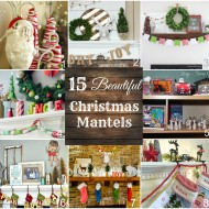 Christmas Mantel Blog Hop