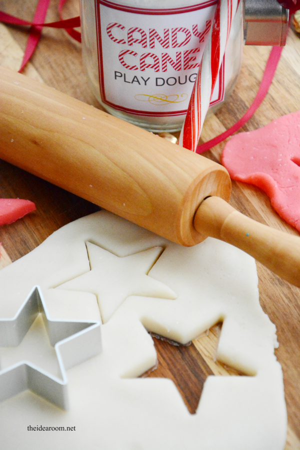 Candy Cane Play Dough 1