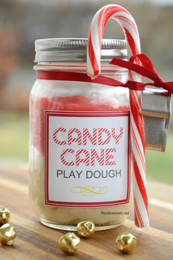 Candy Cane Play Dough 5