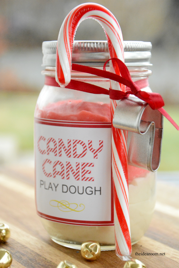 Candy Cane Play Dough 6