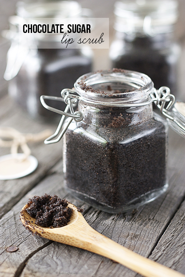Chocolate Sugar Lip Scrub