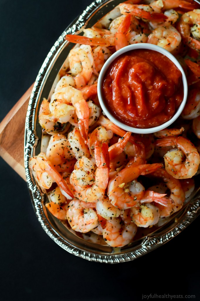 Garlic-Herb-Roasted-Shrimp-with-Homemade-Cocktail-Sauce-5