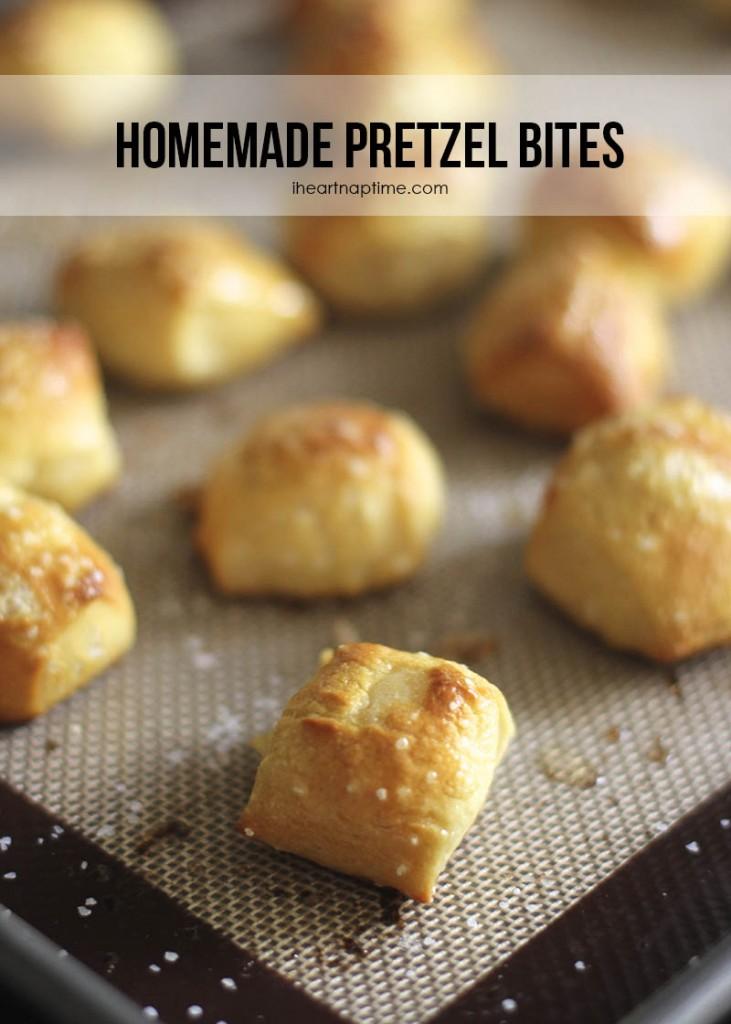 Homemade-pretzel-bites