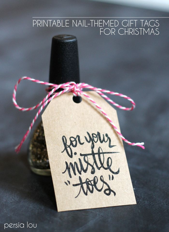 Mistle Toes Christmas gift