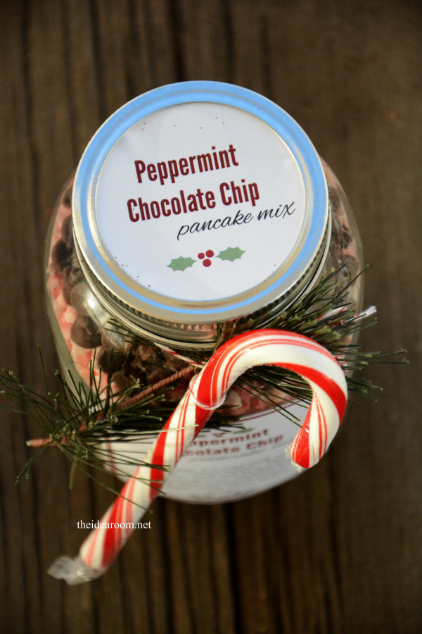 Peppermint Chocolate Chip Pancake Mix