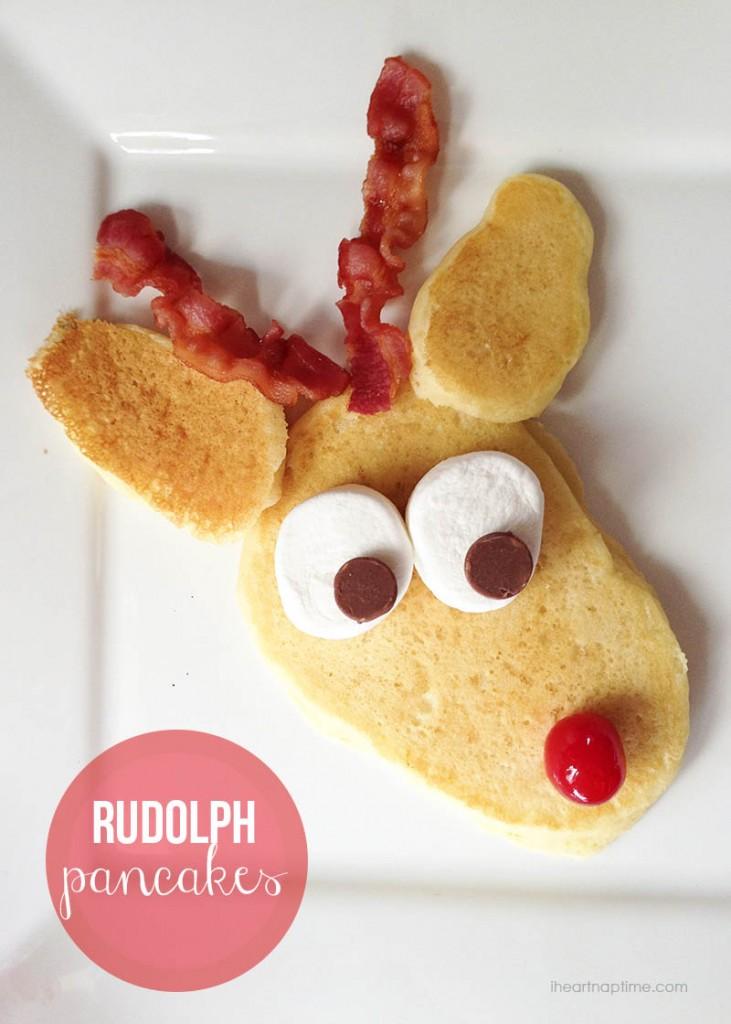 Rudolph-pancakes