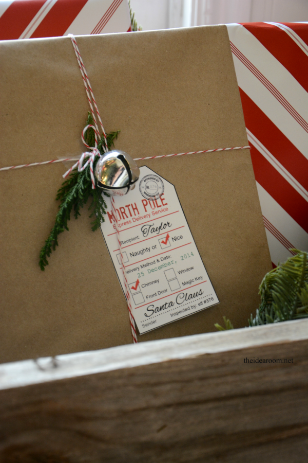 Santa Gift Tags 3