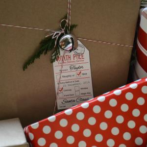 Santa Gift Tags 6