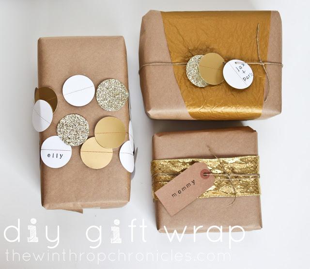 diy gift wrap 1