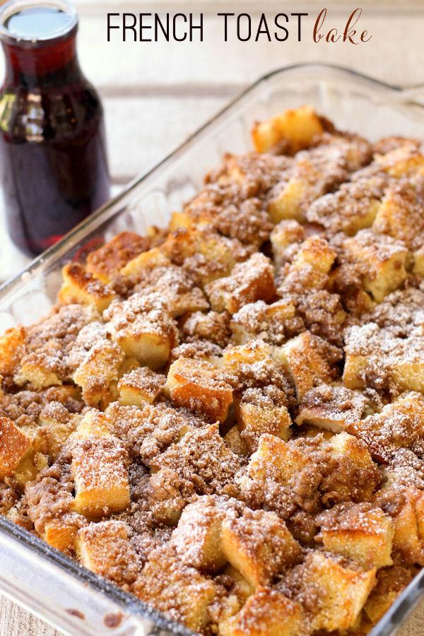 Frech Toast Recipe In Cake Oan