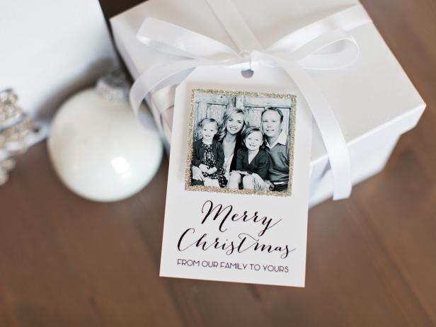 printable photo gift tags