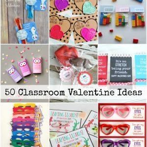 50 Classroom Valentine Ideas Cover