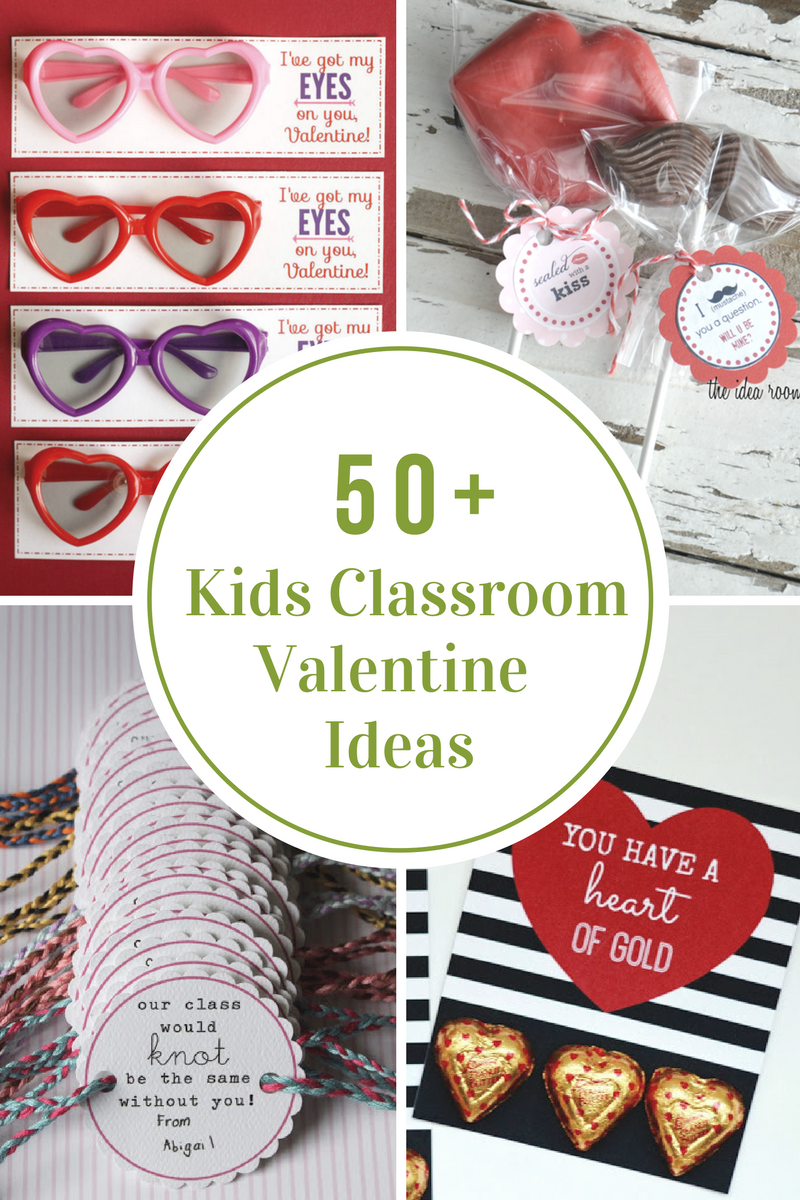 ... up 50 DIY Kids Classroom Valentine's Day Ideas to help inspire you. You can get started early so when Valentine's Day comes you can just enjoy spending ...