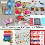 50 DIY Kids Classroom Valentine's Day Ideas
