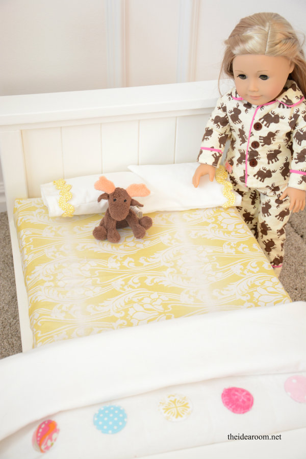 DIY Doll Bed 10